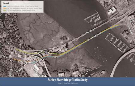 Approaches to Ashley River Bridges