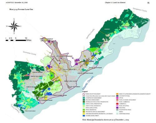 Urban Growth Boundary and future land use recommendations